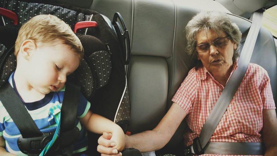 Mal Spontan die Oma wegficken